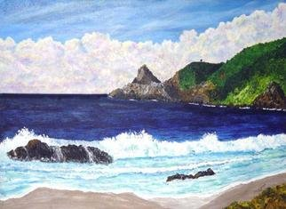 James Parker; Mazunte Beach, 2003, Original Painting Acrylic, 24 x 18 inches. Artwork description: 241 The beaufiful coast of Mazunte Beach, Mexico is depicted in the afternoon sun. In the distance is Punta Comita, the southern most point in the state of Oacaca. ...