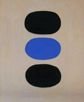 Jan-Thomas Olund; Opus 10, 2020, Original Painting Oil, 50 x 61 cm. Artwork description: 241 A painting of meditation and simplicity included in the seriesOpusa musical term.  The artwork is a minimal expression Oil on canvas. ...