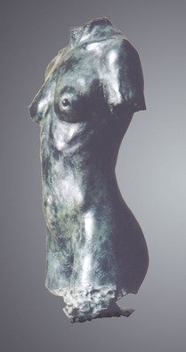 Bruce Naigles; Asta, 1995, Original Sculpture Bronze, 42 x 81 cm. Artwork description: 241  Asta was a dancer, half Norwegian, half Ugandean. She had broad shoulders and thin hips giving her a masculine like figure, but a softness and suppleness that belongs only to the other half of our species. She was a fantastic and inspiring model whom I wish i ...