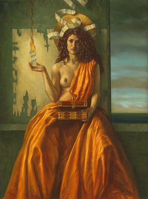 Jake Baddeley; Burning Wishes, 2009, Original Printmaking Giclee, 62 x 80 cm. Artwork description: 241 Limited Edition Fine Art Giclee on Canvas image size: 80 x 62 cm limited edition of 25  ...