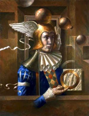 Jake Baddeley; Squaring The Circle, 2005, Original Printmaking Giclee, 58 x 74 cm. Artwork description: 241 Limited Edition Fine Art Print on Archival Paper...