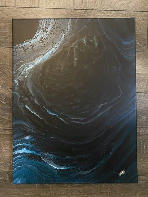 Justin Dabolish; The Abyss, 2020, Original Painting Acrylic, 18 x 24 inches. Artwork description: 241 Each Acrylic pour I do comes out different from the next even when using the same colors so no two paintings are the same. Original. Signed. ...