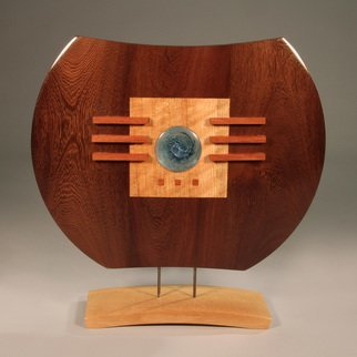 Jerry Cox; apple of my eye ii, 2015, Original Sculpture Wood, 18 x 22 inches. Artwork description: 241 apple science craft wood turned carved...