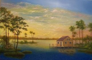 Jerry Sauls; A Place In The Sun, 2012, Original Painting Oil, 36 x 24 inches. Artwork description: 241