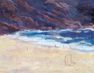 Jessica Dunn, 'The Cove', 2007, original Painting Oil, 100 x 80  x 3 cm. Artwork description: 1758 This painting seems to have been stolen from the exhibition...