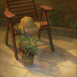 Judith Fritchman, , , Original Painting Oil, size_width{Summer_Solstice-1175401470.jpg} X 37 inches