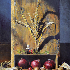 John Gamache, , , Original Painting Oil, size_width{Watching_My_Garden_Grow-1332342962.jpg} X 24 inches