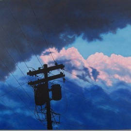 Artist: James Gwynne, title: After the Storm, 2012, Original Painting Oil
