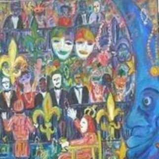 Jim Bilgere; Laissez Les Bon Temps Rouler, 2018, Original Painting Oil, 36 x 48 inches. Artwork description: 241 This is a painting of the Rex, King of Carnival Parade at Mardi Gras in New Orleans ...