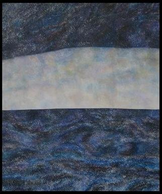 Jim Haldane; Seascape 2, 2003, Original Painting Acrylic, 5 x 5 feet. Artwork description: 241  Jim lives near the sea and in 2003 decided to embark on one of the simplest and yet most challenging projects of his career and try and depict the ever changing seascapes on canvas. ...