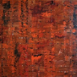 Jim Lively, , , Original Painting Acrylic, size_width{burnt_orange_integrity-1554056288.jpg} X 16 inches