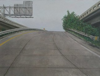 James Morin; Entrance V, 2007, Original Painting Oil, 10.7 x 13.7 inches. Artwork description: 241 10. 7 ...