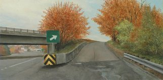 James Morin; Entrance VI, 2008, Original Painting Oil, 19.7 x 9.7 inches. Artwork description: 241   19. 7 ...