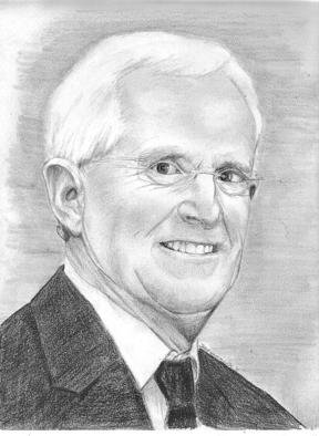 Jodie Hammonds; Gary Bradley Remembered, 2011, Original Drawing Pencil, 8 x 10 inches. Artwork description: 241   Gary Bradley remembered            ...