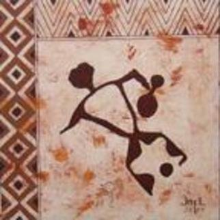 Joel P Heinz Sr.; Petro Dancer, 2004, Original Painting Acrylic, 12 x 12 inches.