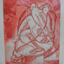 John Powell, , , Original Printmaking Etching, size_width{Time_2-1112915486.jpg} X 12 inches