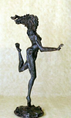 James Johnson; Iris, 2010, Original Sculpture Other, 5 x 16 inches. Artwork description: 241  archetype, nude, female, beauty, dance, erotic, fantasy, figurative, mystical, meditation, mythology, new age, spiritual, nudes ...