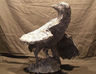 James Johnson, Raven, 2011, Original Sculpture Other, size_width{Raven-1480184978.jpg} X 12 x  inches
