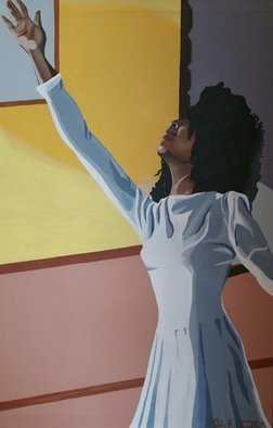 John Trimble; In The Spirit For His Glory, 2015, Original Painting Acrylic, 24 x 36 inches. Artwork description: 241  The Ministry of Praise Dancing...