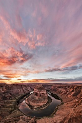 Jon Glaser, 180 degrees of sunset, 2016, Original Photography Color, size_width{180_degrees_of_sunset-1487511708.jpg} X 56 x  inches