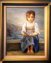 Artist: Joseph Porus', title: Little Girl Lost, 2013, Painting Oil