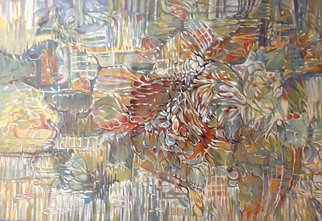 Jan Pozzi; Hidden Bird, 2017, Original Painting Acrylic, 48 x 30 inches.