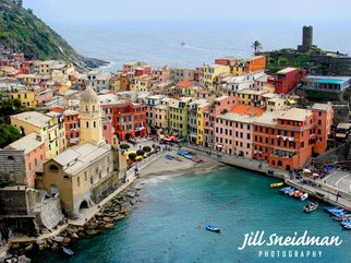 Jill Sneidman; VERNAZZA, 2015, Original Photography Color, 36 x 27 inches. Artwork description: 241 Cinque Terre Region in Italy...