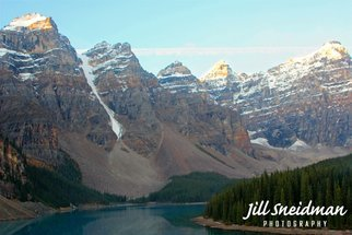 Jill Sneidman; YOUR MAJESTY, 2016, Original Photography Color, 56 x 38 inches. Artwork description: 241 Moraine Lake, Banff National ParkCanadian Rockies...