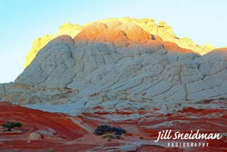 Jill Sneidman; all white brain rock, 2017, Original Photography Color, 56 x 38 inches. Artwork description: 241 Vermillion Cliffs ...