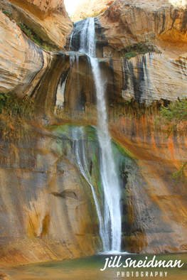 Jill Sneidman; calf creek falls, 2017, Original Photography Color, 38 x 58 inches. Artwork description: 241 Grand Staircase Escalante Utah...