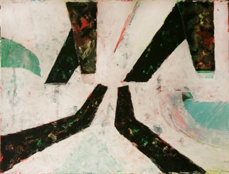 Juan R Correa; W For Wotan, 2010, Original Painting Acrylic, 76 x 57 cm. Artwork description: 241     Acrylic on paper     ...
