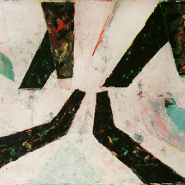Artist: Juan R Correa, title: W for Wotan, 2010, Original Painting Acrylic