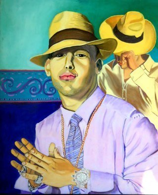 Cecilia Juliana Eres; Pepelesemialamaracapaquesuene, 2008, Original Painting Oil, 60 x 100 cm. Artwork description: 241 Character, style, personality, expression. ...