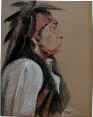 Juraj Skalina; Native AZ, 2004, Original Pastel, 18 x 24 inches.