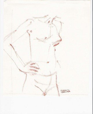 Juraj Skalina; Sketch 2, 2005, Original Drawing Charcoal, 7 x 9 inches.