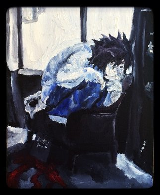 Charlie Laquidara; Midday Meditation, 2014, Original Painting Oil, 8 x 10 inches. Artwork description: 241       Original Oil on CanvasL Death Note Fanart         ...