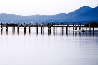 Kara Burke-Mullane; Lake Tahoe Dawn On The Pier, 2007, Original Photography Color, 14 x 11 inches.