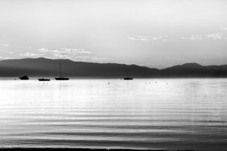 Kara Burke-Mullane; Lake Tahoe   , 2007, Original Photography Black and White, 14 x 11 inches.