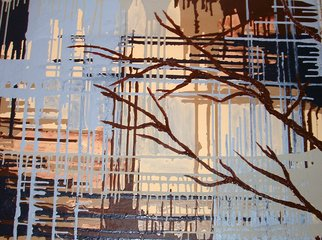 Katie Gunther; Branches, 2008, Original Painting Acrylic, 40 x 30 inches.