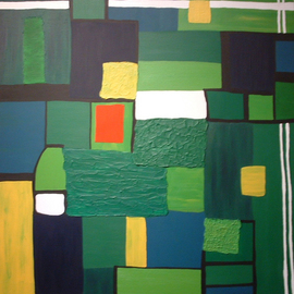 Katie Gunther, , , Original Painting Acrylic, size_width{Green_Fury-1200033240.jpg} X 40 inches