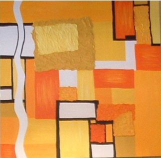Katie Gunther; Never Ending Sunset, 2004, Original Painting Acrylic, 40 x 40 inches.