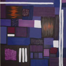 Katie Gunther, , , Original Painting Acrylic, size_width{Purple_Orchid-1200033692.jpg} X 40 inches