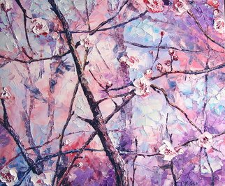 Keren Gorzhaltsan; Spring Bloom, 2010, Original Painting Oil, 61 x 51 inches. Artwork description: 241   oil on canvas size 51cm X 61cm  ...