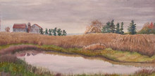 Artist: Debbie Homewood's, title: Pond Magic , 2007, Watercolor