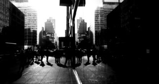 Kerwin Williamson; Dim Reflections, 2012, Original Photography Black and White, 16 x 20 inches. Artwork description: 241 Given the changing urban landscape of New York City with new additions of modern architecture ( where so much glass is used) , it makes for an interesting subject. Exploring the visual aspect of this is a serious challenge.                     ...