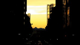 Kerwin Williamson; The Night Time Is The Rig..., 2012, Original Photography Color, 30 x 20 inches. Artwork description: 241  When it comes to summer in NYC, the days are often to bright & too hot. As the sun sets it changes the look of every street.         ...