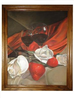 Kevin Wakefield; Offerings Of Love, 2013, Original Pastel, 52 x 36 inches. Artwork description: 241  Romance and offerings of love.   ...