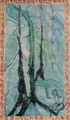 Kichung Lizee; Sacre Coeur Series, 2013, Original Paper, 34 x 62 inches. Artwork description: 241          Sacred Heart Series         ...