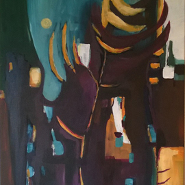 Kimmie Hamm, , , Original Painting Acrylic, size_width{Organic_City-1431819604.jpg} X 24 inches