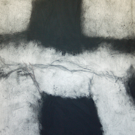 Douglas A. Kinsey, , , Original Drawing Charcoal, size_width{As_If_Things_Were_Less_Spoken_Of__5-1329928327.jpg} X 52 inches